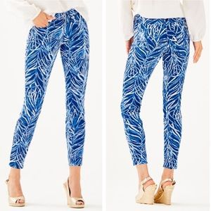 Lilly Pulitzer | South Ocean Skinny Crop Jean Pant